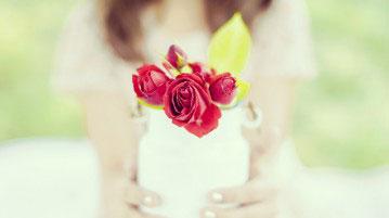 Un bouquet de fleur pour la fête des mères
