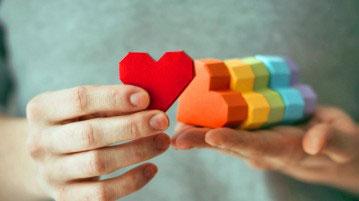 petit coeurs de toutes les couleurs