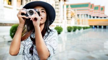 Photographe de vacances
