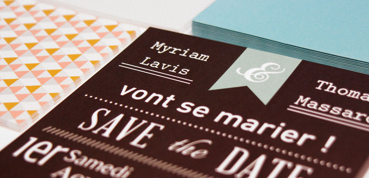 Save the date pour un mariage réussi