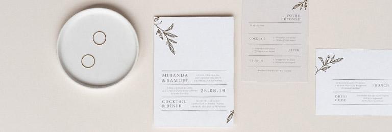 banniere carton invitation mariage