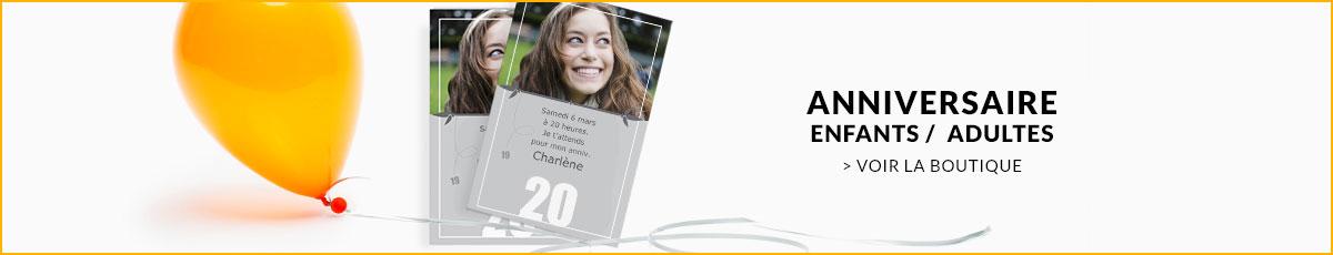Texte Invitation Anniversaire Adulte Et Enfant Carteland