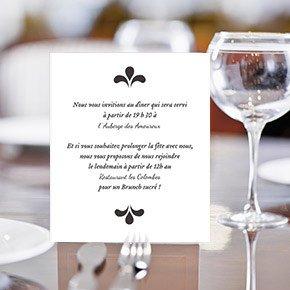 Texte de carte d'invitation de mariage algerien
