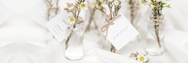 banniere etiquette mariage