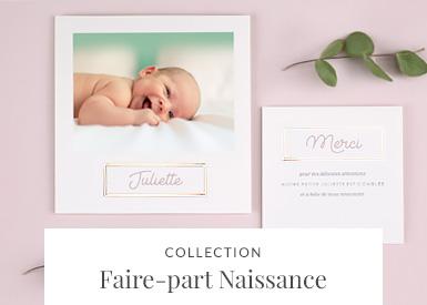 Faire-part Naissance