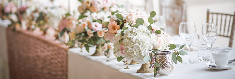 banniere plan de table mariage