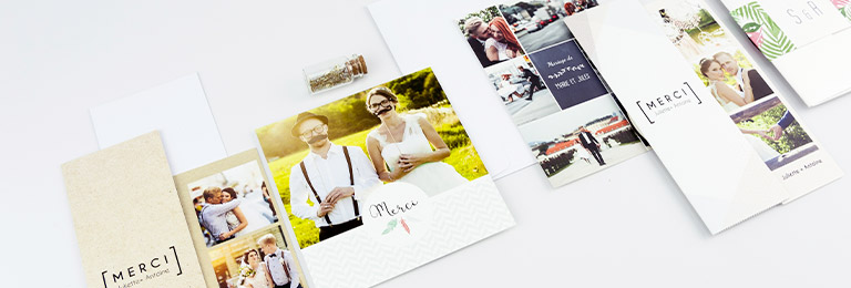 remerciement mariage sans photo