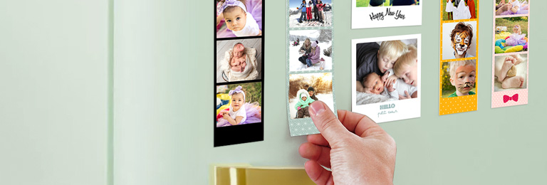 Tirage photo magnet